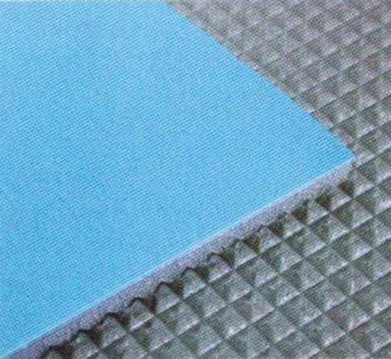 Покрытие ковровое, голубое (max 6 X 12 M)