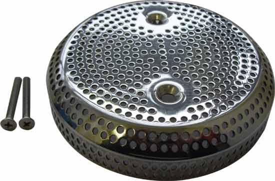 Антивихревая крышка/сетка 130 мм из нерж. стали V4A