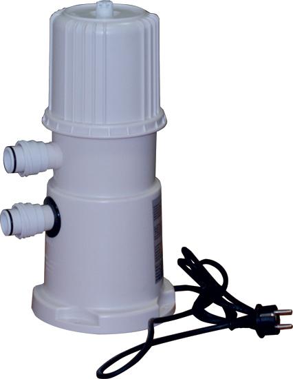 Фильтровальная установка 2 м3/час,  для сборного бассейна, картриджная, навесная