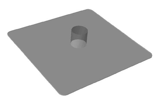 Защитные плиты 33х39 см. из PP  для стоек 8020650000 (подобрать с учетом шага стойки 2-3 м)