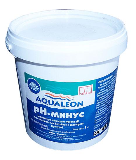 Гранулат рН минус Aqualeon, 25 кг