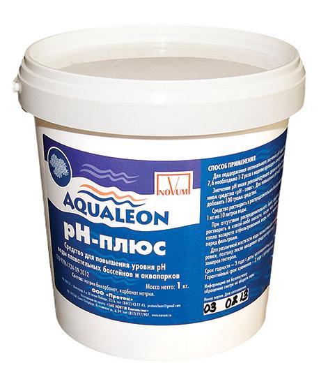 Гранулат рН плюс 1 кг Aqualeon (уп-ка 6 шт.)