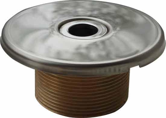 Дюза 18 мм, резьба 1 1/2 х 40 мм, бронза/нерж. пр-во Германия (Hugo Lahme)