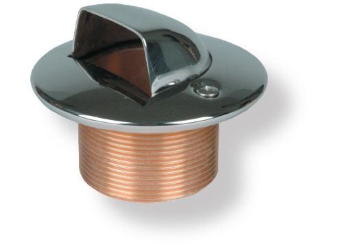 Дюза раковина для бет. басс., 2 х 40 мм с фланцем и уплотнением