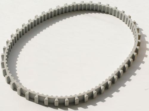 Запасная гусеница (зубчатый ремень) для Dolphin 2 х 2, Moby, Pro и Pro X