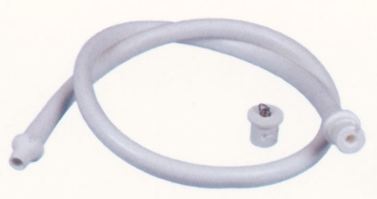 Массажный шланг с заглушкой для противотока Taifun Duo, противотока-стартовой тумбы