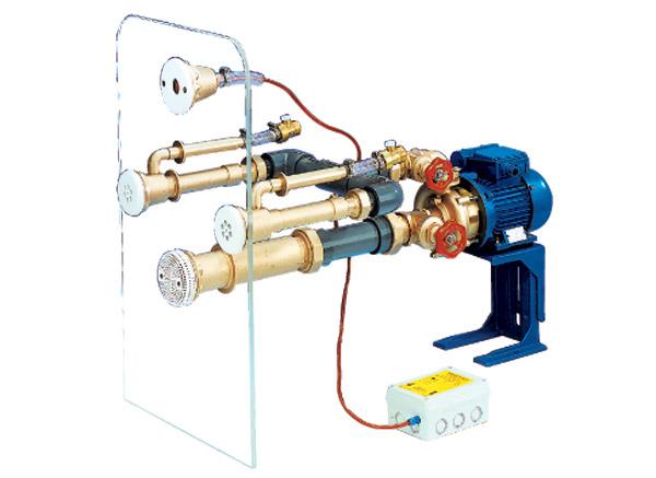 Гидромассажная установка Standard, насосн. компл., для бетон. басс.(панели из нерж.)