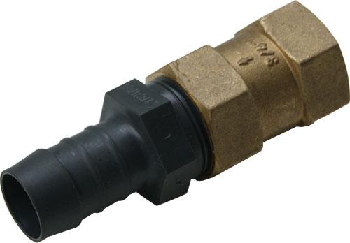Вентиль для подачи воздуха/обратный клапан с переходником на шланг 19 мм