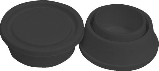 Запасной резиновый упор (маленький) для лестниц, за пару, цвет черный!