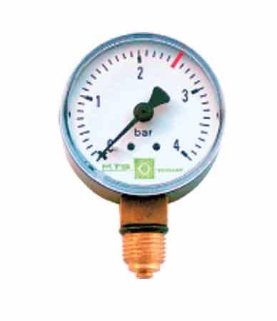 Манометр 1/4 для фильтровальной емкости Picco (радиальный)