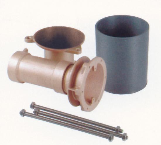Комплект закладной для массажных душей MIDI/водяных пушек Kanone