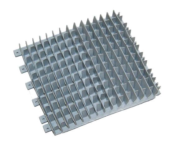 Зап. щетка для Dolphin Plus/Dyn/Pro, PVC, 120 мм серая (необх. 4 шт.)
