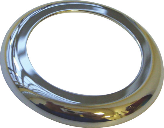 Декоративная рама для кнопки эл. управления (диам. 25 мм), хром. пластик