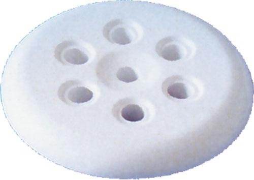 Дюза FutureMidi, диам. 53 мм, 7 отверстий белый пластик