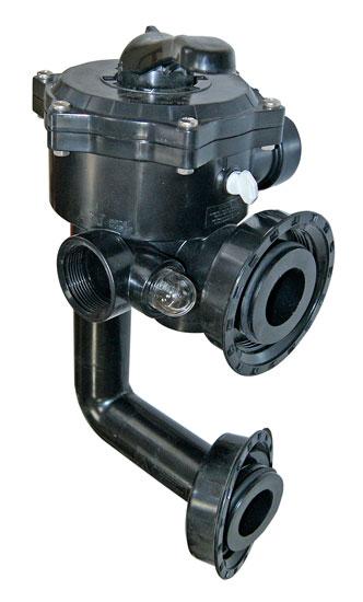 Клапан 6-позиционный 1 1/2, боковой с фитингами подключения, для фильтра PENTAIR Triton 19 и 24