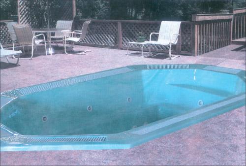 Гидромассажный бассейн Olympia SE 400-1 с освещением