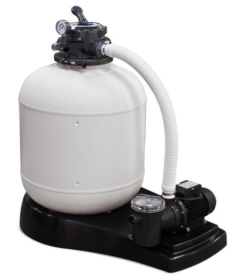 Фильтровальная установка  Xpert 10, емкость диам. 500 мм, 0,6 кВт, 220 В, 9 м3/ч, клапан 6-поз.