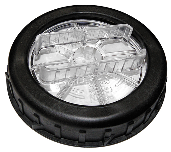 Комплект из крышки, накидной гайки и уплотнительного кольца для насосов Bettar