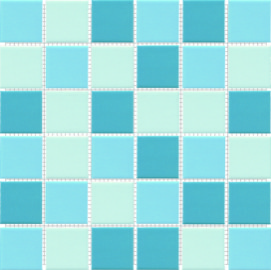 Фарфоровая мозаика сочетающихся тонов (3-х сочетающихся тонов)
