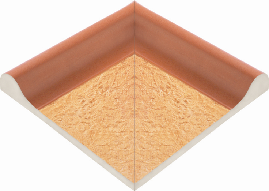 Наружные угловые элементы  рельефных поручней  ПЬЕТРА
