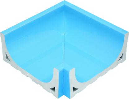 Наружный угловой элемент водоотводного канала
