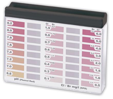 РТ100 Профессиональный Тестер для измерения рН и хлора/брома
