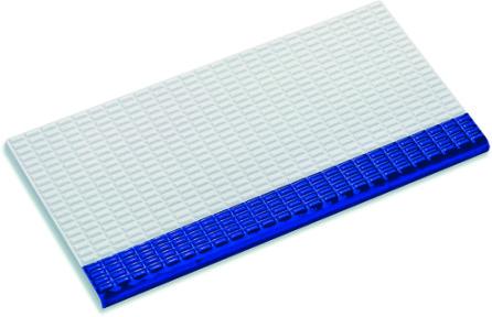 Плитка с сетчатой поверхностью частично глазурованная