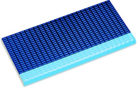 Плитка с сетчатой поверхностью глазурованная