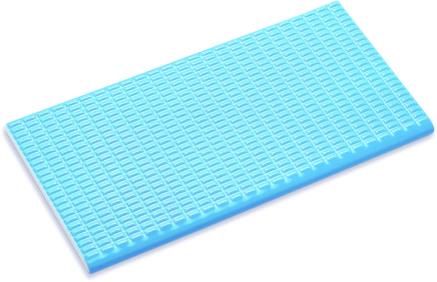 Плитка с сетчатой поверхностью с буртиком