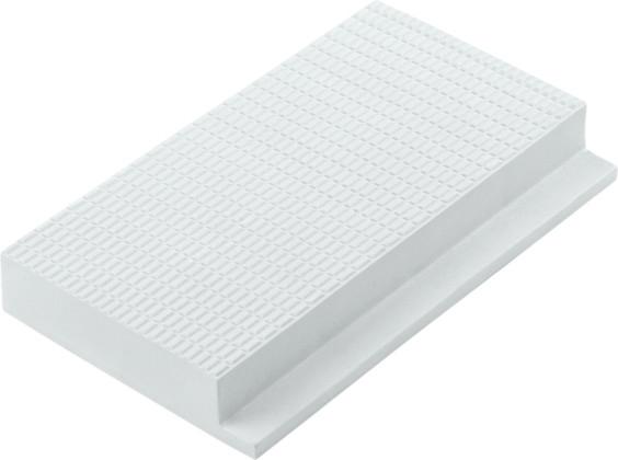 Профильная противоскользящая плитка с сетчатой поверхностью