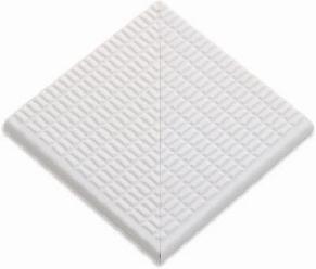 Угловые элементы противоскользящей  плитки с буртиком