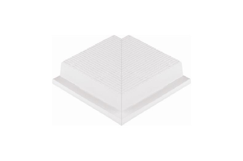 Угловой элемент противоскользящей двухпрофильной  плитки 33 мм