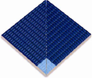 Внутренние угловые элементы  глазурованной противоскользящей  плитки Ugl51247
