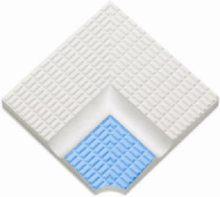 Внутренние угловые элементы  поручней с сетчатой поверх. с изгибом Ugl32201