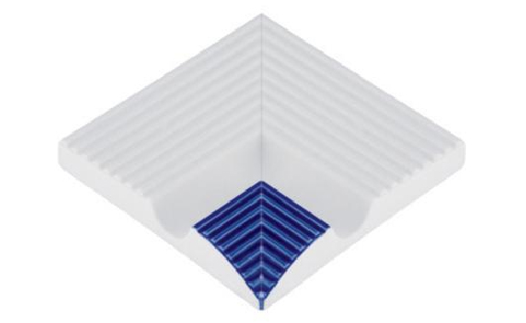 Внутренние угловые элементы прямоканальных поручней
