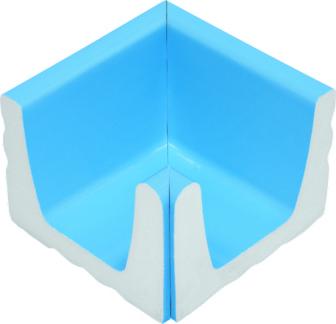 Внутренний угловой элемент водоотводного канала