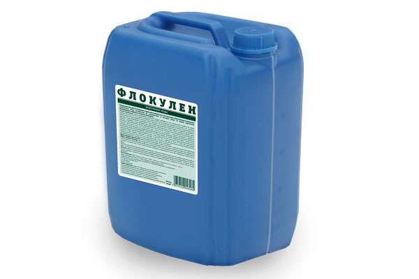 ФЛОКУЛЕН — жидкий коагулянт  20 л.