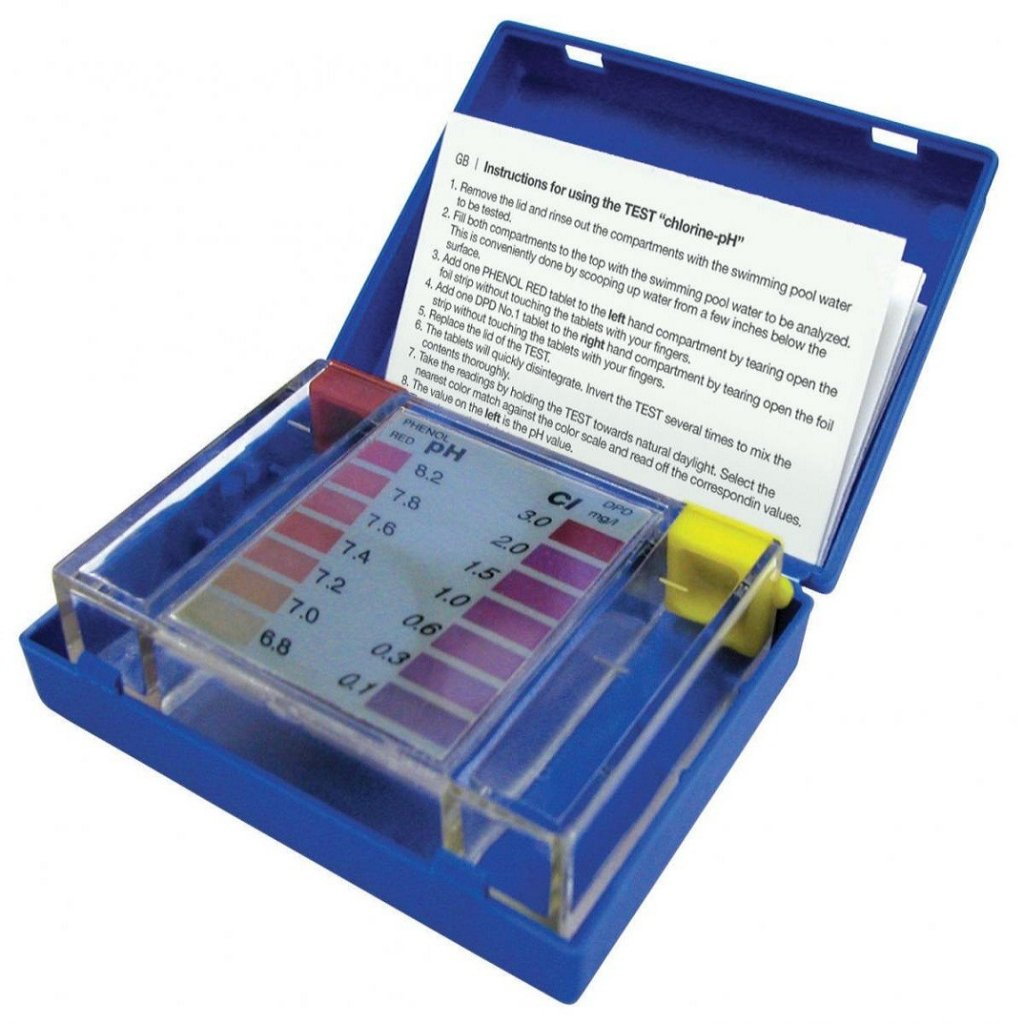 Тестер таблеточный Cl и pH