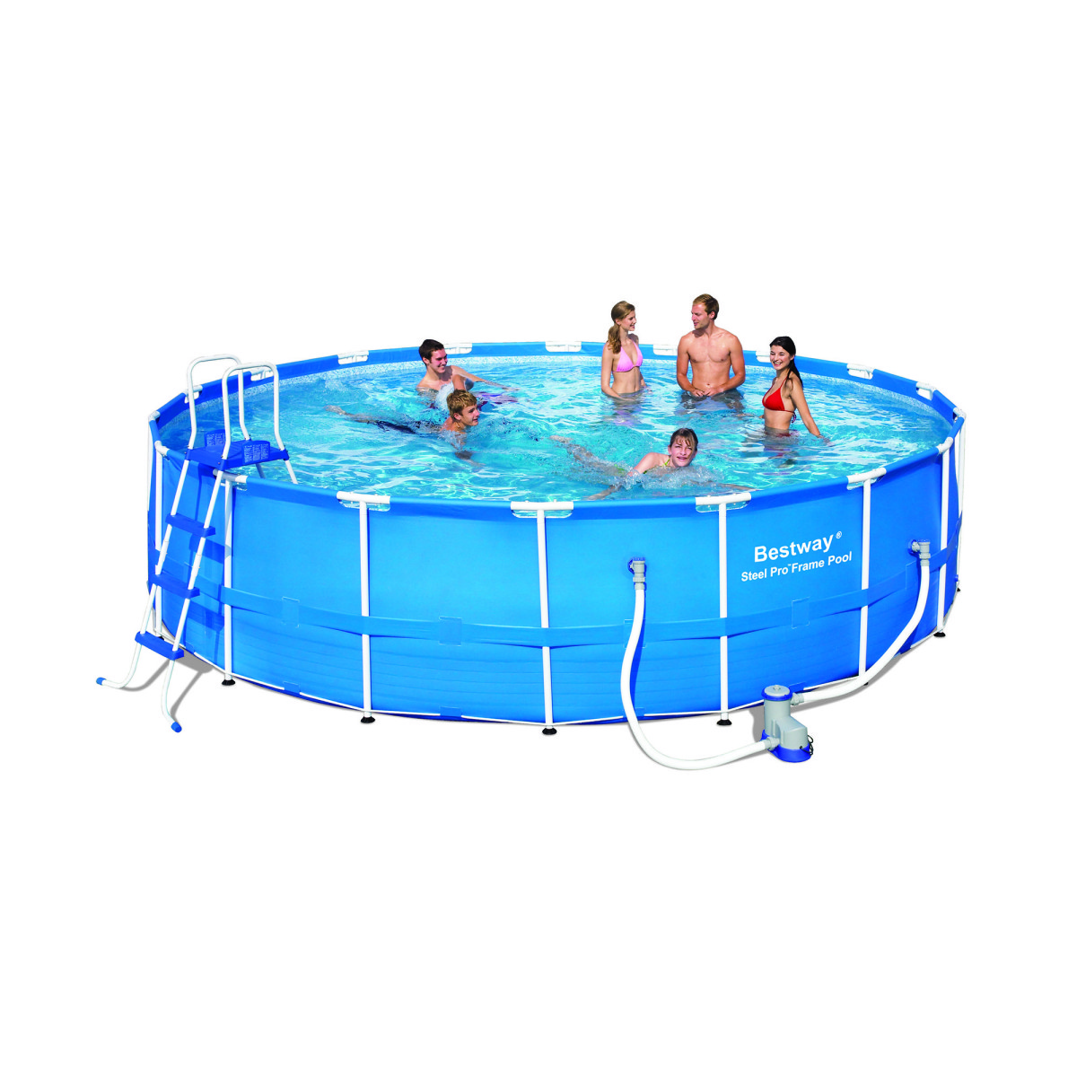 Каркасный бассейн Bestway 56113 (549х122) без уборочного комплекта