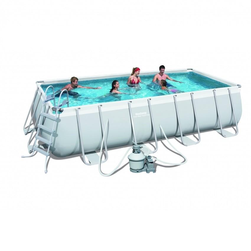 Каркасный бассейн Bestway 56390 (488х274х122)