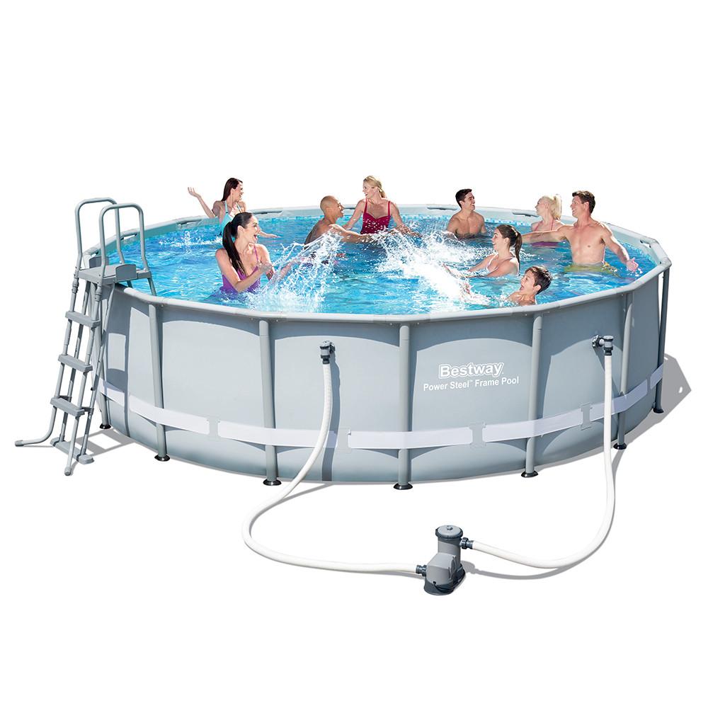 Каркасный бассейн Bestway 56451 (488х122)