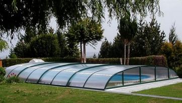 Павильон для бассейна Dallas Clear A (прозрачный ПК) Pavilion0005