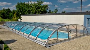 Павильон для бассейна Dallas Clear B (прозрачный ПК) Pavilion0004