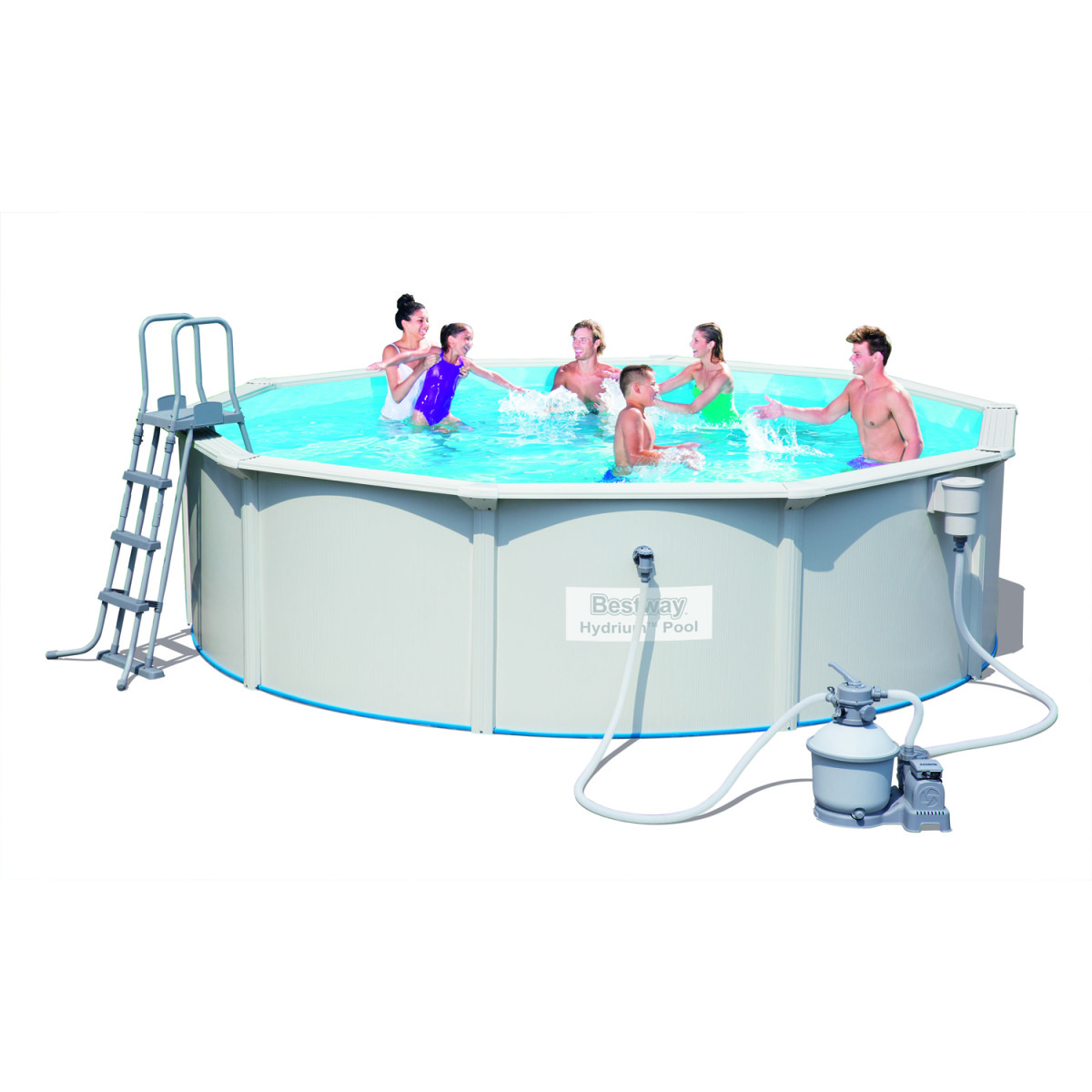 Сборный бассейн Bestway Hydrium Pool 56384 (460х120)