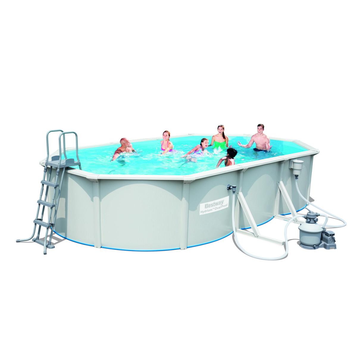 Сборный бассейн Bestway Hydrium Pool Poseidon 56369 (610х360х120)