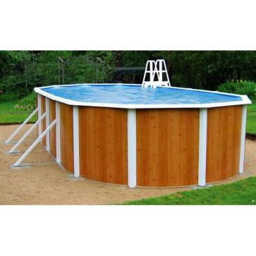 Овальный бассейн Atlantic Pools Esprit — Wood (3.66×5.49×1.32м.)