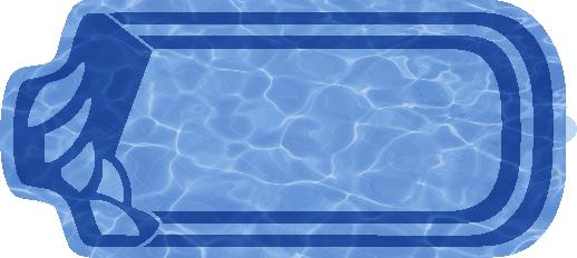 Прямоугольный бассейн Изабель