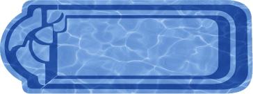 Прямоугольный бассейн Ванесса