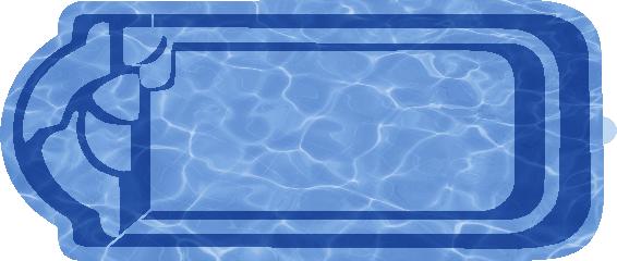 Прямоугольный бассейн Ребекка