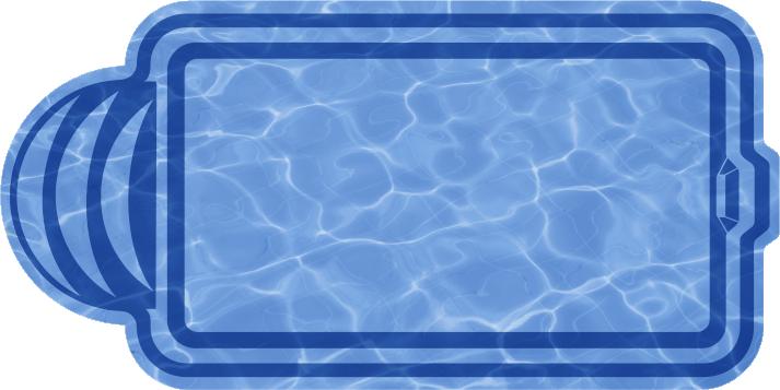 Прямоугольный бассейн  Валенсия (МОДЕЛЬ 2015г.)
